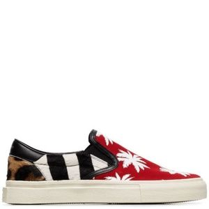 Amiri Slip on Palm Patchwork Sneaker